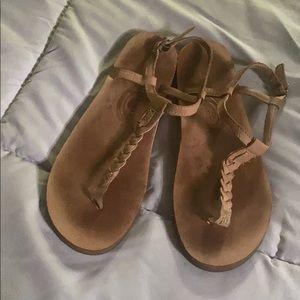 Rainbow T-Strap Sandal